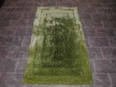 Modern Approx 5x3 80x150cm Woven Backed Top Quality Sparkle Greens Rugs Shaggy